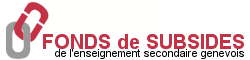 Fonds de subsides de l'enseignement secondaire genevois